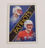 Tom Brady 2000 Fleer Skybox Impact 27 Rookie RC New England Patriots Card