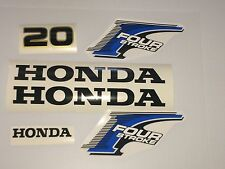 Honda 20 hp 4-Stroke Outboard Decal Kit - USA free fast shipping fourstroke