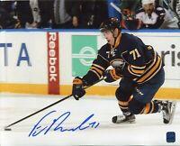 Evan Rodrigues Buffalo Sabres Pittsburgh Penguins Signed Autograph Photo DA COA