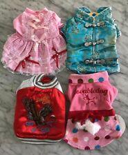 NEW LOT OF 4 DOG CLOTHES SIZE XS Chihuahua Yorkie Super Quality Wholesale LOT 8