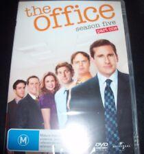 The Office (Steve Carrell) Season Five 5 / Part One 1 (Aust Region 4) DVD – New