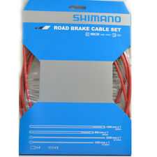 NEW 2018 Shimano Dura Ace Road Brake Cable Set Fits Ultegra, 105: RED