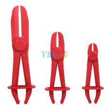 3 Pieces Flexible Nylon Hose Clamp Kit Pliers Tool Auto Brake Fuel Water Line SG