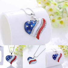 Crystal Rhinestone Alloy Charm Costume Necklaces & Pendants