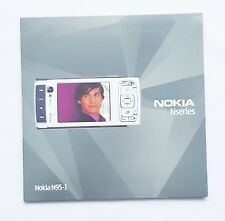 Original Nokia nseries  N95-1 user guide / Manual 0750686