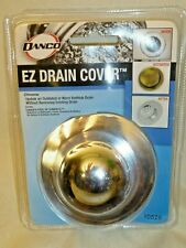 Danco Ez Drain Cover for Bathtub Chrome 10528 New Touch Activated Replacement