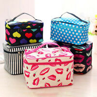 Travel Cosmetic Bag Make Up Vanity Portable Case Pouch Toiletry Storage Womens