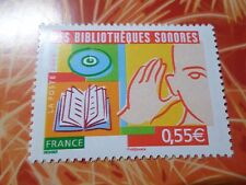FRANCE, 2008, timbre 4160, BIBLIOTEQUES SONORES, neuf**, MNH STAMP