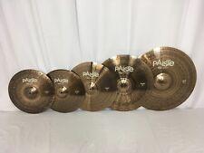 Paiste 900 Series 5 Piece Universal Cymbal Set/Free Cymbal Bag-Sticks