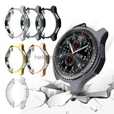 2Pack TPU Protector Watch Case Cover Bumper For Samsung Gear S3 Frontier Classic