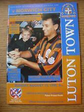 13/08/1995 Luton Town v Norwich City  (No Apparent Faults)