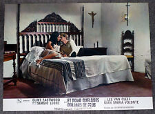 For A Few Dollars More original lobby card Rosemary Dexter/Peter Lee Lawrence