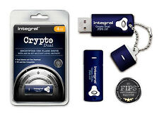 Secure Encrypted 4GB USB Flash Drive with 256 Bit Military Security for PC & Mac