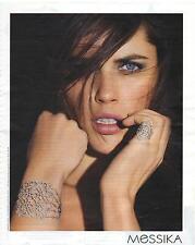 PUBLICITE 2011 MESSIKA joaillier bague et bracelet