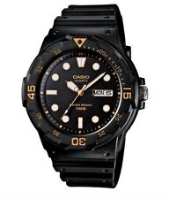 Casio Watch * MRW200H-1EV Diver Look 100WR Rotating Bezel Black COD PayPal