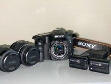 Sony Alpha a68 24.2MP Digital SLR Camera - Black (18-55mm lenses)