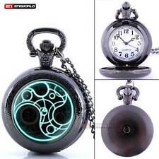 Time Pocket Watch- Quartz- Chain Epic Time- Dr. Who- Antique Space