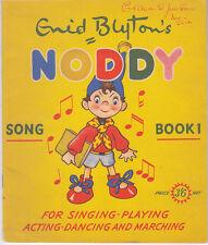 Enid Blyton Noddy song book 1