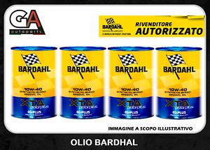 Olio motore 10W40 XTA Bardahl Polar plus tagliando auto 4 Litri Diesel Benzina