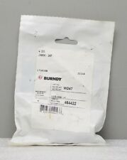New Burndy W247 Index 247 Stainless Steel W Crimping Die