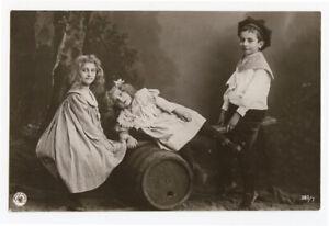 c 19905 Glamour Child Children SEA SAW Kids at Play photo postcard