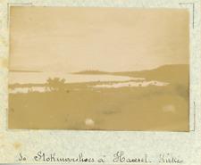 Norvège, de Stokmarknes à Hadseloya, archipel des Vesterålen  vintage albumen pr