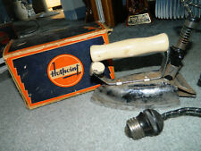 Vintage General Electric Hot Point 1930s 59F68 Vintage Iron with Original Box