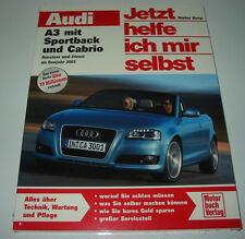 Reparaturanleitung Audi A3 mit Sportback 8P + Cabrio Benzin + Diesel ab 2003 NEU