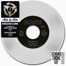 "TOM VERLAINE / DAVID BOWIE Kingdom Come - 7"" / White Vinyl - Limited - RSD 2015"