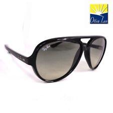 RAY BAN CATS 5000 4125 601/32 Nero Sole Sunglasses Sonnenbrille Lunettes 60132