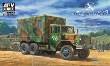 Afv Club 1/35 M109A3 / M-185A3 Shop Van M35 series 2.5 ton 6x6 cargo truck