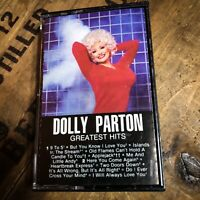 Dolly Parton 'Greatest Hits' Cassette (1982, RCA) * Vintage!