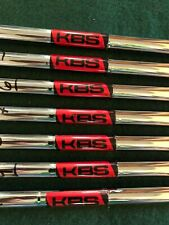 KBS Tour 120 Stiff Shafts 4-PW Professional Pull .355 Very Good Condition .355
