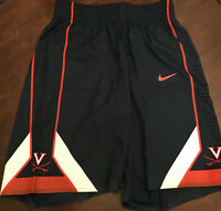 NWT Virginia UVA Cavaliers Basketball Team Issued Nike Blue Game Shorts 40 + 4