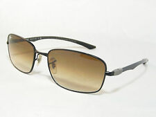 Ray Ban 8308 Brown Gradient Tech Sunglasses  59 18