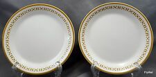 Syracuse Syralite Honeycomb Bread Butter Plates Set of 2 Restaurant Ware ca 1978