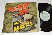 GUY BOUCHER Ma Jolie Rose LP Campus Records C-59305 Vinyl G+/VG Quebec Pop Vinyl