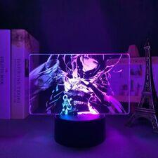 Colorful Dual Lamp Genshin Impact Raiden Shogun for Kid Bedroom Decor Birthday G