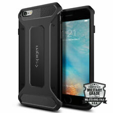 iPhone 6S Plus Case, Spigen Rugged Armor Shockproof Protective Cover - Black