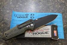 """NEW Hogue 34258 EX-02 Extreme Series 3.75"""" Spear Blade Folding Knife Green G10"""