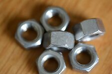 """Stainless steel UNC  3/8"""" nuts x 10"""