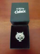 "Clocks & Colours - .925 Sterling Silver ""Carnivore"" Ring, Size 11 - RARE"