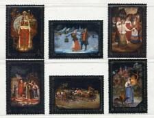 30073) RUSSIA 1977 MNH** Folk Tale Paintings 6v.