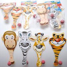 Zoo Animal Paddle Ball Game