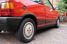 Adesivi Fiat UNO TURBO ie i.e. MK1 kit COMPLETO fasce fiancate DX e SX + Retro