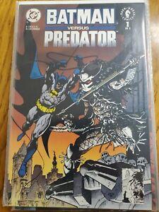 Batman vs Predator, Batman vs Predator 2 DC Comics Dark horse comics