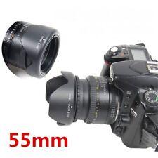 55MM Reversible Tulip Petal Flower Lens Hood for Sony Alpha DSLR Camera 18-55mm
