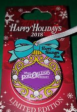 Disney Pin LOUIS THE GATOR Wreath Happy Holidays 2016 Port Orleans LE 1200