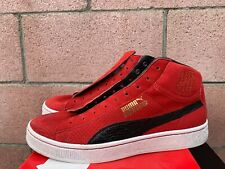 PUMA UNDFTD MID UNDEFEATED 24K GOLD PACK RIBBON RED WHITE BLACK 348216-02 SZ 11
