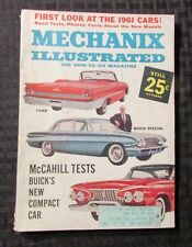 1960 Oct MECHANIX ILLUSTRATED Digest Magazine FN+ Buick Special Ford